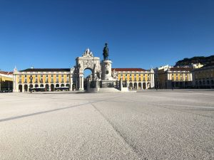Praça do Comercio, Lisbon